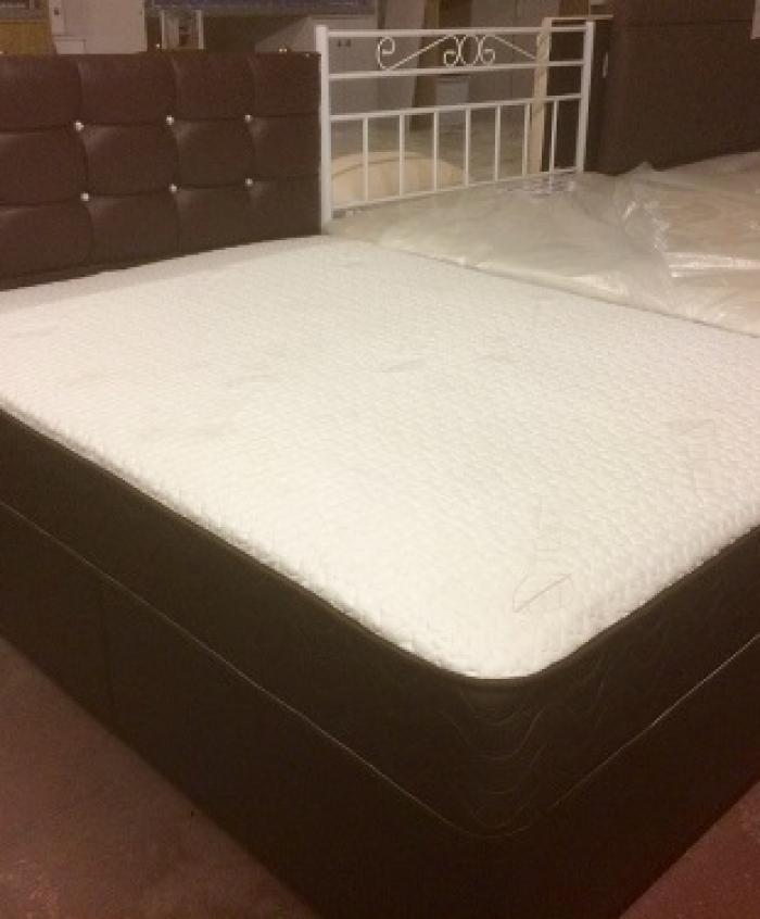Chicago pocket sprung divan set gb beds for Pocket sprung divan set