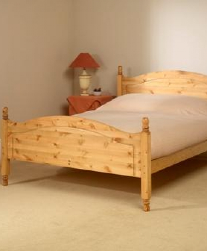 Orlando Bed Frame With High Foot End