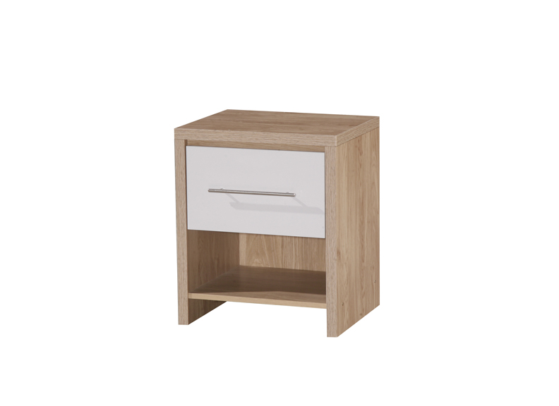 Nevaeh 1 drawer bedside