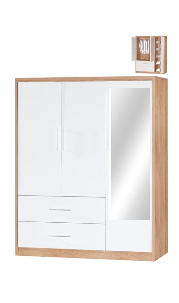 Nevaeh 3 Door with mirror