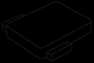 Storage options - 2 drawer