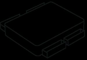 Storage options - 4 drawer