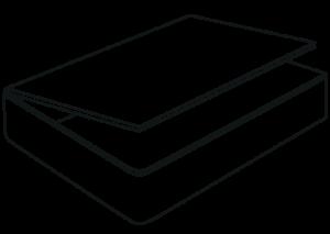 storage options - side ottoman